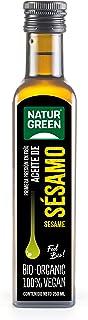 NaturGreen Aceite de sésamo Bio de Primera Presión - 250 ml. (502278)