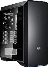 MasterCase MC600P ATX-Mid Tower Case w/Freeform Modular, Tempered Glass, RGB LED, Sleek Air Ventilation Design by Cooler Master (Renewed)
