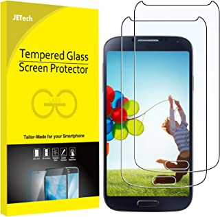 JETech 2-Pack Screen Protector for Samsung Galaxy S4, Tempered Glass Film
