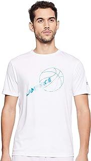 Nivia 2280-2 Nitro-4 Polyester Casual Round T-Shirt, L (White)