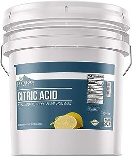 Citric Acid (3.5 Gallon) Food Safe, Preservative, Non-GMO, Resealable Bucket