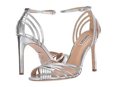 Badgley Mischka Andi (Silver Metallic Nappa) High Heels