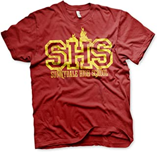 Officially Licensed Sunnydale High School Men's T-Shirt (Tango Red)
