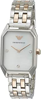 Emporio Armani Women's AR11146 Analog Quartz Rose Gold Watch