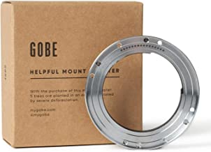 Gobe Lens Mount Adapter  Compatible with Leica Lens and Nikon Camera Body