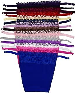 14 Colors Lady Lace Clip-on Mock Camisole Bra Insert Overlay Modesty Panel Vest