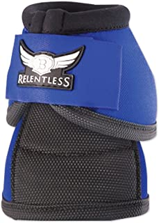 SmartPak Relentless Strikeforce No-Turn Bell Boots Royal Blue L
