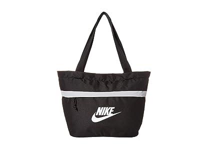 Nike Kids Tanjun Tote (Little Kids/Big Kids) (Black/Black/White) Handbags