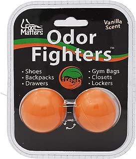 Odor Fighters - Shoe Deodorizer Balls - Adjustable Vanilla Scent