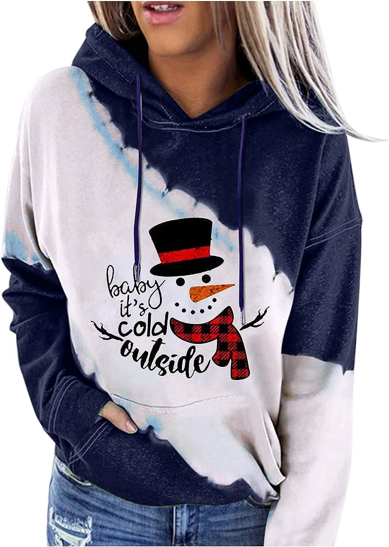 Bombing new work Women's Christmas Sweatshrit Novelty Matching Pullov Print Color Popular overseas