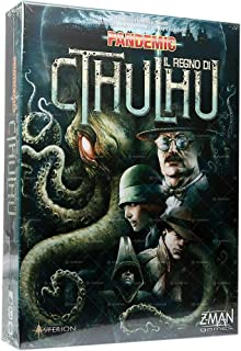 Asterion 8388 - Pandemic Game - The Kingdom of Cthulhu, Italian Edition