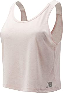 New Balance Women Relentless Crop Tank Top Performance