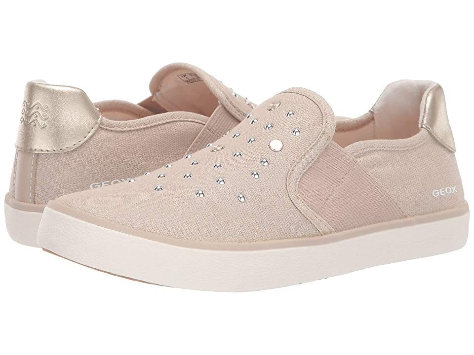 Geox Kids Kilwi Girl 50 (Little Kid/Big Kid) (Light Beige) Girl