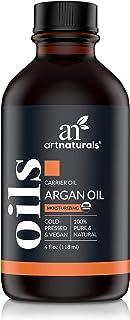 artnaturals Organic Morrocan Argan Oil - 4 oz - for Hair, Face & Skin - 100% Pure Grade A Triple Extra Virgin Cold Pressed...