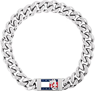 Tommy Jeans Unisex Space Jam Jewelry Stainless Steel Link...