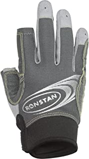 Ronstan Sticky Race Gloves w/3 Full & 2 Cut Fingers - Grey - X-Large (54956)