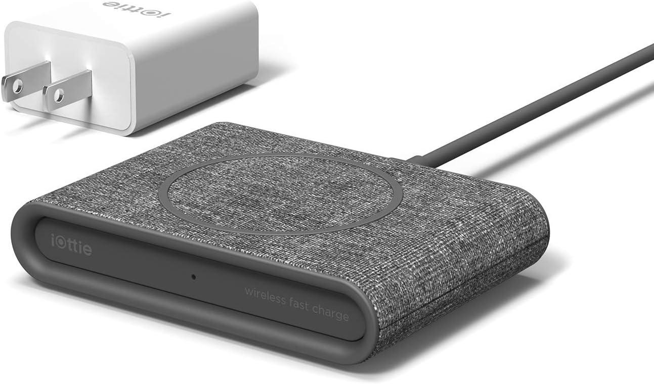 iOttie ION Wireless Mini Fast Qi-Certified Denver Mall Charging Max 52% OFF Pad Charg