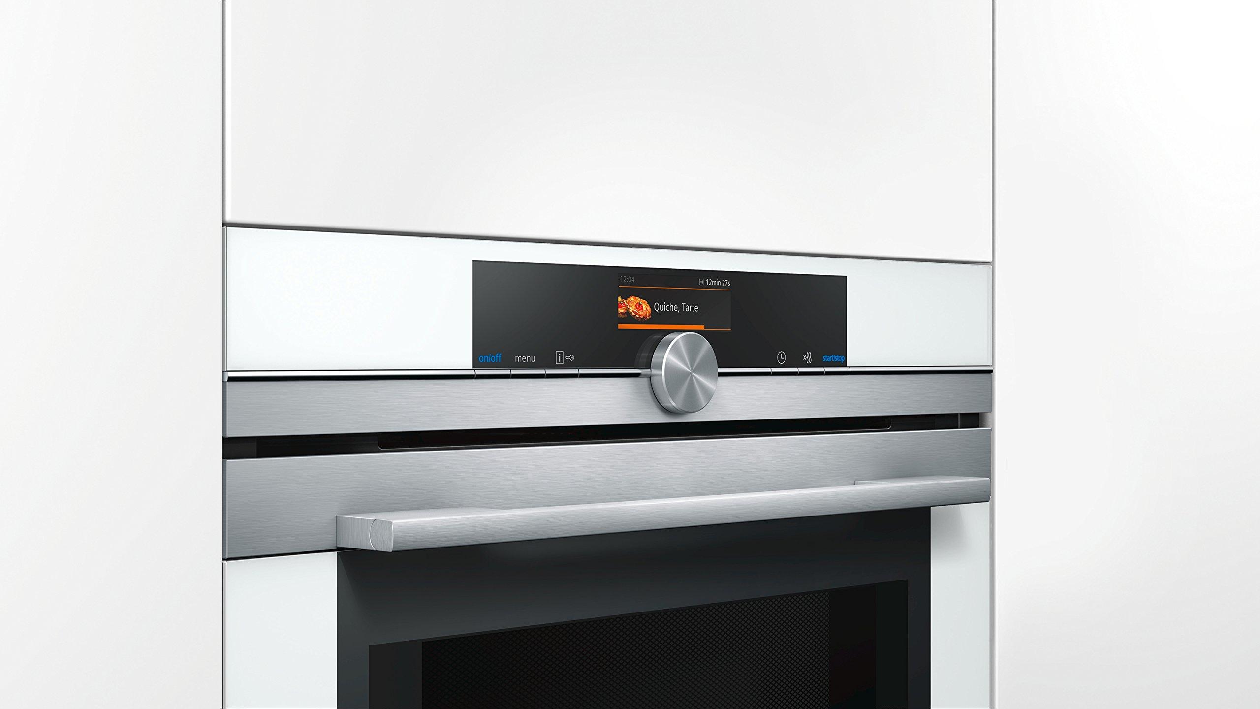 Siemens CM676GBW1 - Horno (Medio, Horno eléctrico, 45 L, 1000 W ...