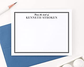 personalized stationery from the desk of