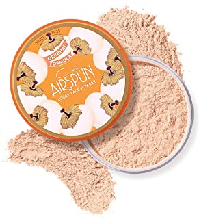 Coty Airspun Loose Face Powder 2.3 Oz Honey Beige Light Peach Tone Loose Face Powder, for Setting or Foundation, Lightweig...