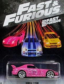 Hot Wheels Fast and Furious 2018 Series Pink Honda S2000 DIE-CAST, Fast and Furious 1/6 Honda S2000