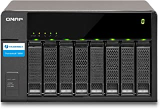 QNAP TX-800P 8-Bay Thunderbolt 2 Storage Expansion Enclosure, Designed for TVs-871T Series (TX-800P-US)