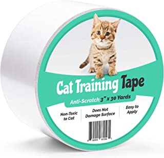 ELK Anti-Scratch Cat Training Tape Provides Cat Scratch Prevention for Furniture, Couch, Door, Carpet and More (3 Inches X...