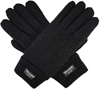 Ladie's Wool Knit Gloves with Thinsulate Lining