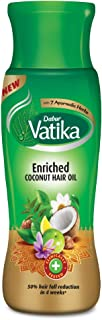 Vatika Naturals Enriched Coconut Hair Oil with Henna Amla and Lemon, 250 ml, FC091300UK