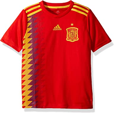 Amazon.com: Spain Home Soccer Youth Jersey FIFA World Cup Russia ...