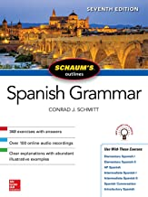 Schaum's Outline of Spanish Grammar, Seventh Edition (Schaum's Outlines)