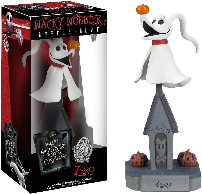 The Nightmare Before Christmas - Zero Wacky Wobbler Bobble Head Figure