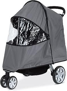 Britax Single B-Agile, B-Free, Pathway Strollers Wind and Rain Cover