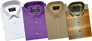 TANGY Pack of 4 Full Sleeves Mens Shirt