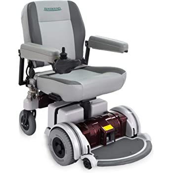 Hoveround Electric Wheelchair - Motorized Power Chair and Mobility Scooter   LX-5 Red Trim, 20-inch Large Adult Seat