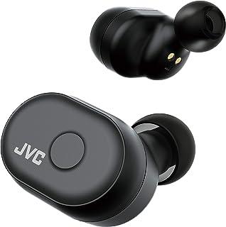 JVC HA-A10T-B 完全ワイヤレスイヤホン 本体質量5.2g小型軽量ボディ/最大14時間再生/防水仕様/Bluetooth Ver5.0対応/ブラック