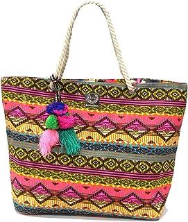 2c71519b1e1aa9 GIANMARCO VENTURI Borsa mare piscina donna beachwear shopping spalla 23051  pink
