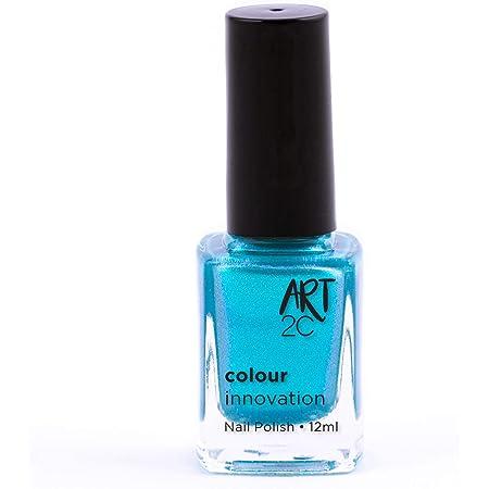 Art 2C - Esmalte de uñas de tonos innovadores, 96 colores, 12ml, color: Mermaid (812)