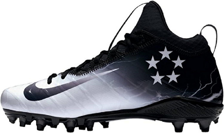 General Nike Field 3 Elite TD TD TD LTNG ljusning herr Football Stuats (8, svart  vit  Medium grå)  bekvämt