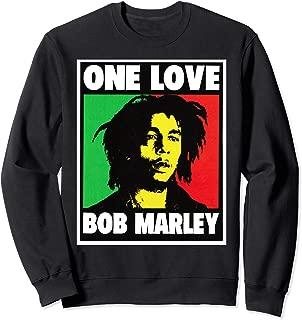Bob Tee Marley One Love King Rasta Lion Jamaican Reggae Gift Sweatshirt