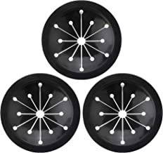 Garbage Disposal Splash Guard, 3 Pack Sink Baffle Disposal Replacement, Food Waste Disposer Accessories Multi-function Drain Plugs, Waste Food Disposal Part for Kitchen (3-1/8 Inch in Diameter)