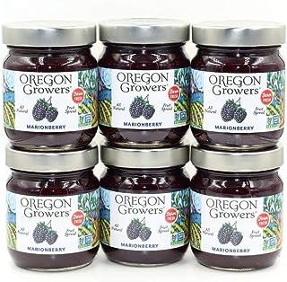 Oregon Growers, Marionberry, Fruit Spread, 12 oz (1 case)