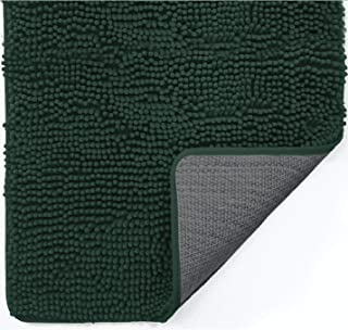 Gorilla Grip Indoor Durable Chenille Doormat, 36x24, Soft Absorbent Mat, Machine Wash Inside Mats, Low-Profile Rug Doormat...
