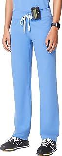 FIGS Women's Livingston Petite Basic Scrub Pants Ceil Blue