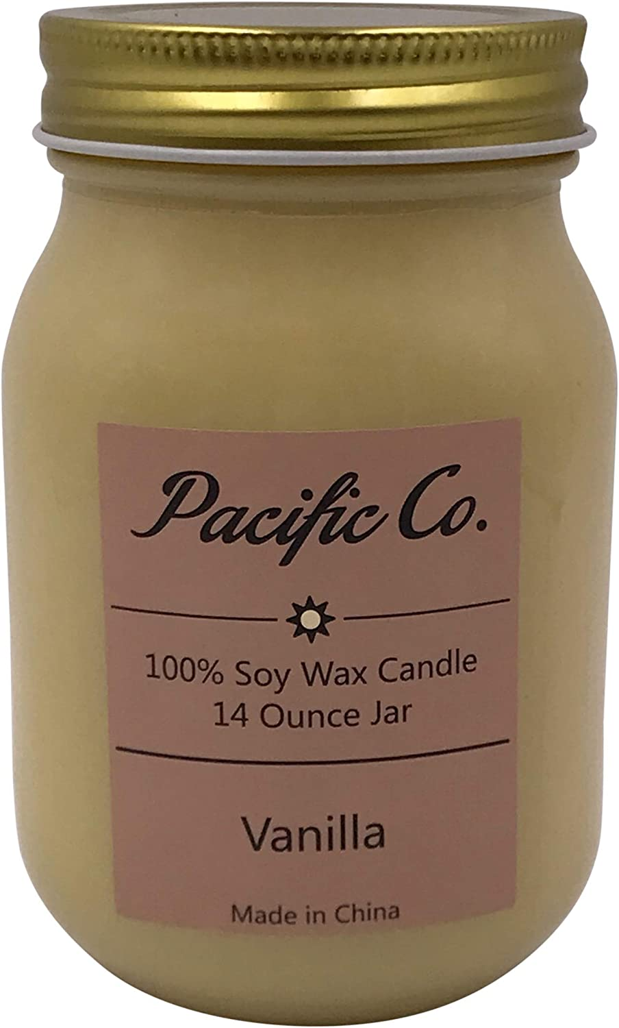 One 100/% Soy Wax Scented Jar Candles 14 Ounce Also Suitable for Aromatherapy Approximately 75 Hours of Burn Time Country Christmas