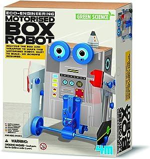 4M - Box Robot/ Motorlu Kutu Robot (3389)