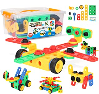 Youwo STEM Toys Kit - Educational Construction Engineering Building Blocks Learning Set for Ages 3yr - 6yr Boys & Girls Creative Games & Fun Activity