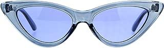 Womens Gothic Cat Eye Pop Color Funk Vintage Sunglasses