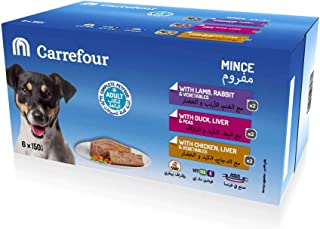 Carrefour Dog Terrine Alutrays 150gx6