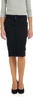 Esteez Women's Denim Pencil Skirt – Knee Length - Stretch Jean - Beverly Hills
